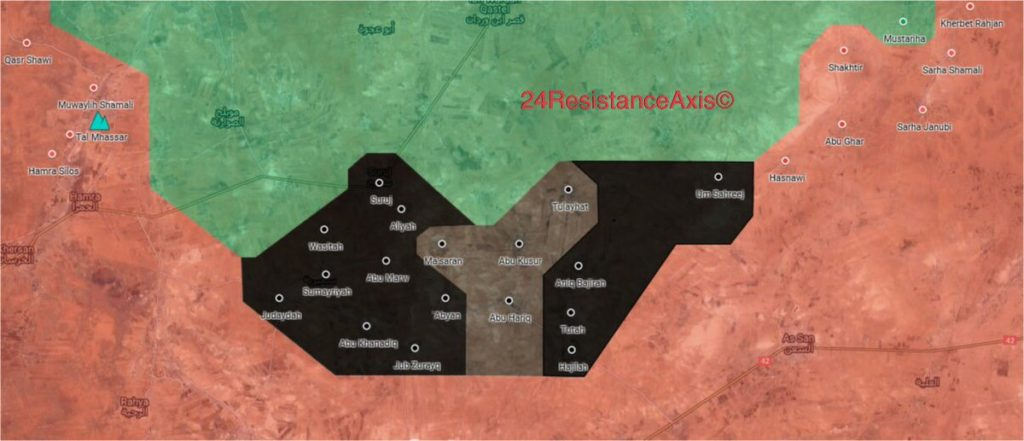"ISIS Cells Expand Further Their Presence In ""Opposition-Held"" Area In Northeastern Hama (Map)"