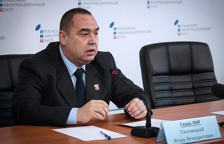 Eastern Ukraine: LPR Internal Crisis Ends With Resignation Of Plotnitsky