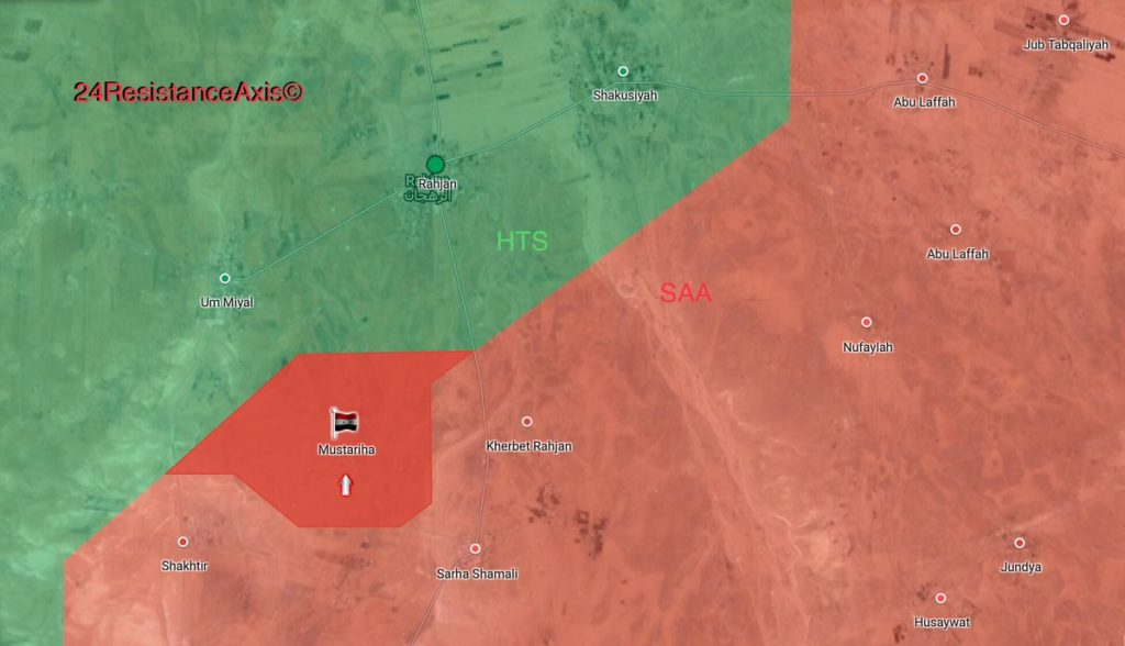 Hayat Tahrir al-Sham Retakes 3 Villages From ISIS In Northeastern Hama (Maps)