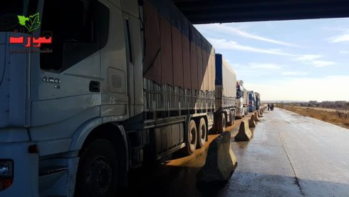 Syrian Government And Opposition Re-Open Part Of Aleppo-Damascus Highway (Photos)