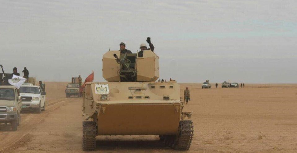 Iraqi Army Liberated 14,100Km2 Since Start Of al-Jazeera Operation (Photos)