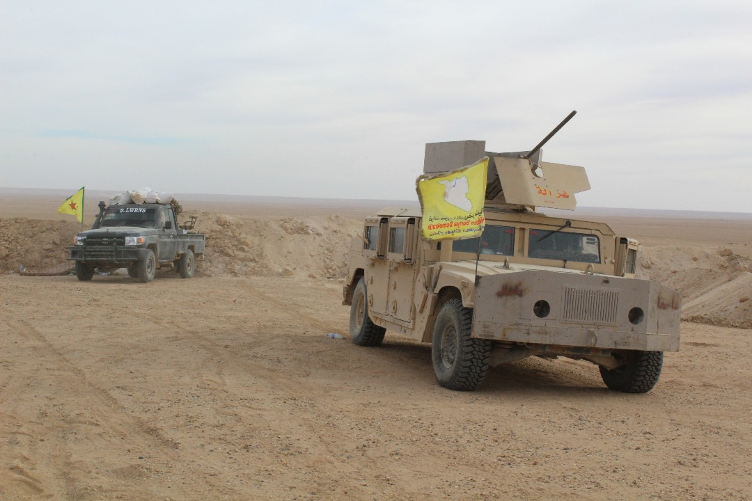 Image result for Syrian Democratic Forces (SDF) fighters every day, hundreds are transported into liberated areas