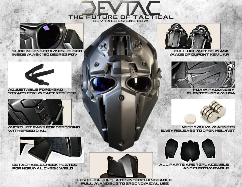 The Ronin: New Ballistic Helmet By Devtac