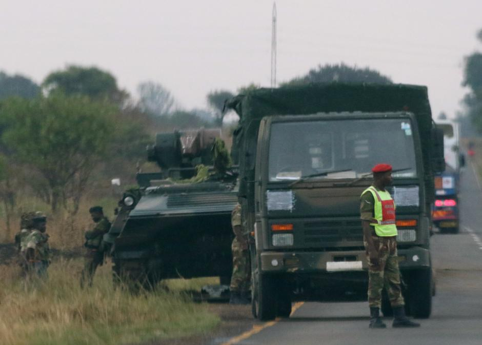President Of Zimbabwe Detained In Military Takeover