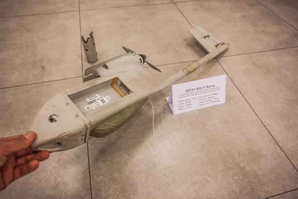 DPR Forces Downed US-made Drone In Eastern Ukraine (Photos)