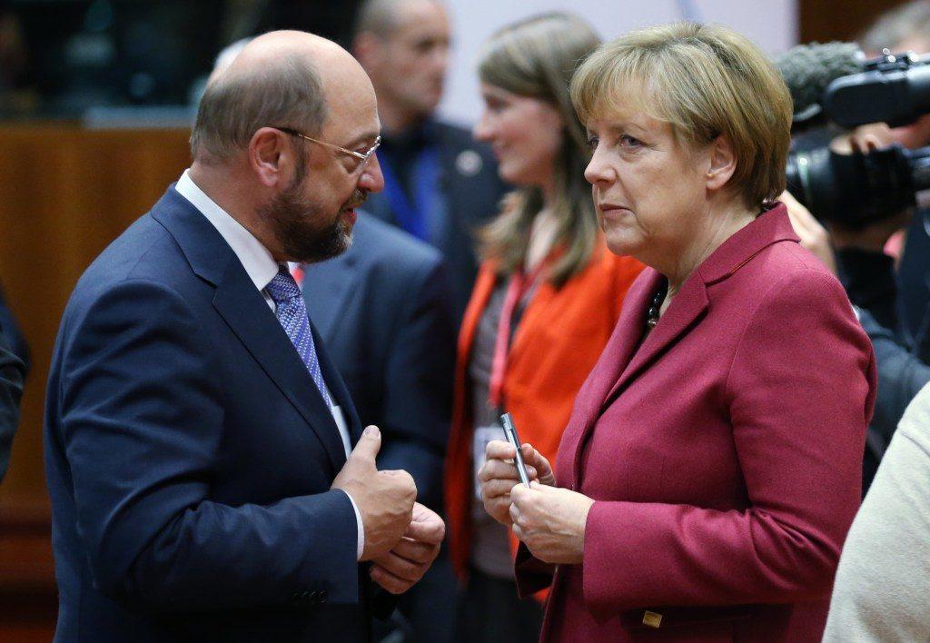 The SPD Establishment Rushes To Merkel's Rescue