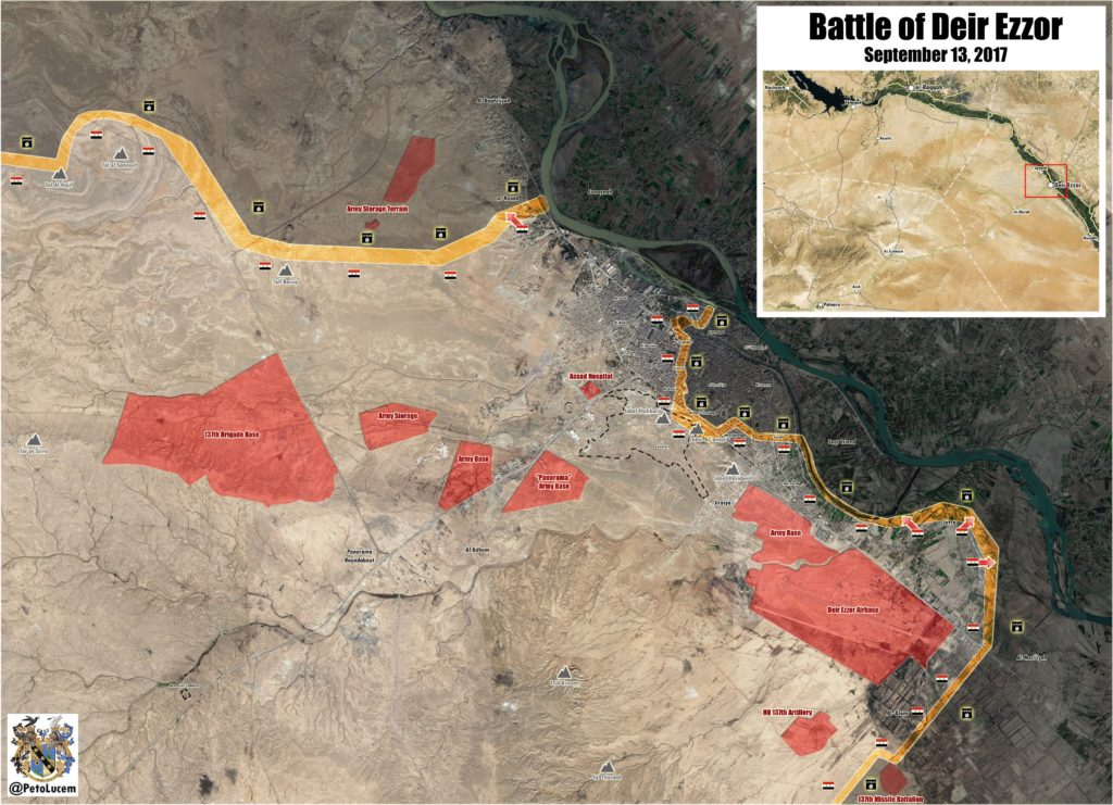 Syrian Army Liberated Deir Ezzor. Overview Of Deir Ezzor Operation Sept. 5 - Nov. 3 (Maps)