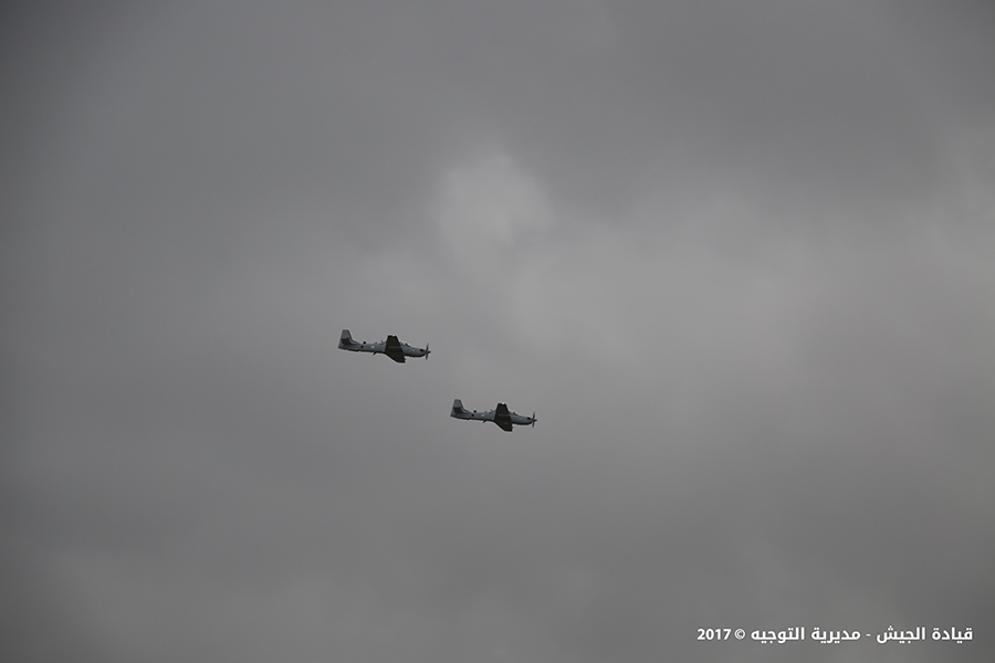 Lebanese Air Force Received Two A-29 Super Tucano Warplanes From U.S.