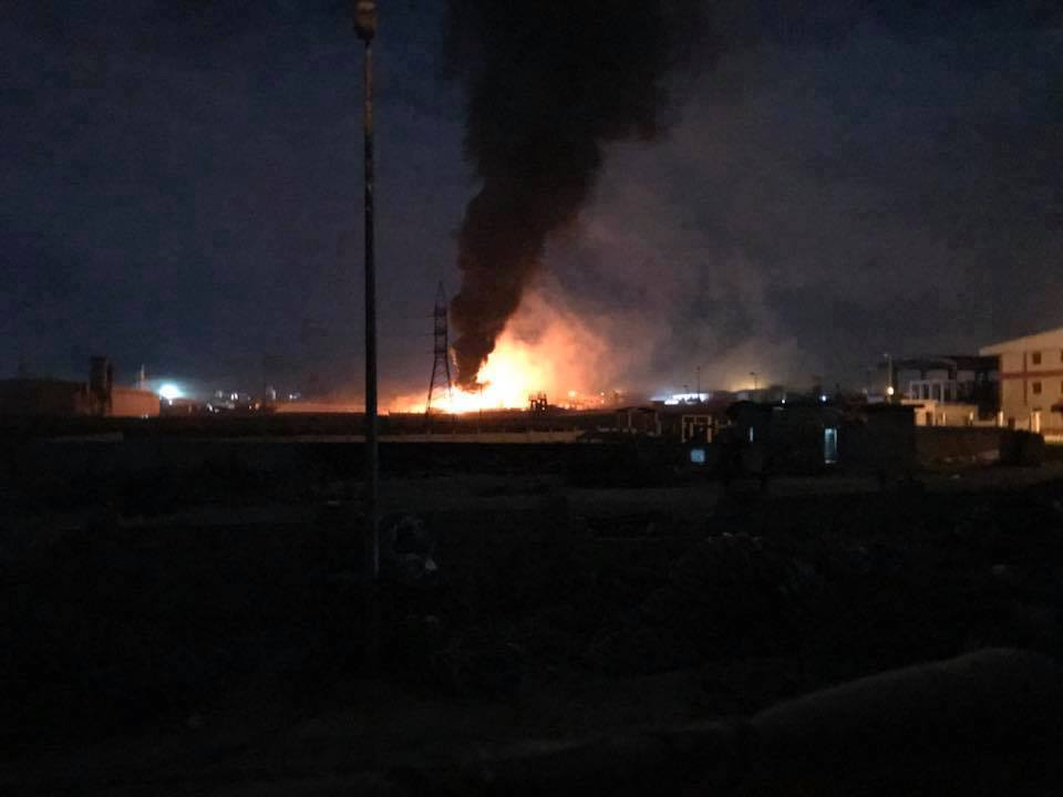 Israeli Warplanes Bombed A Factory In Syria's Homs Governorate