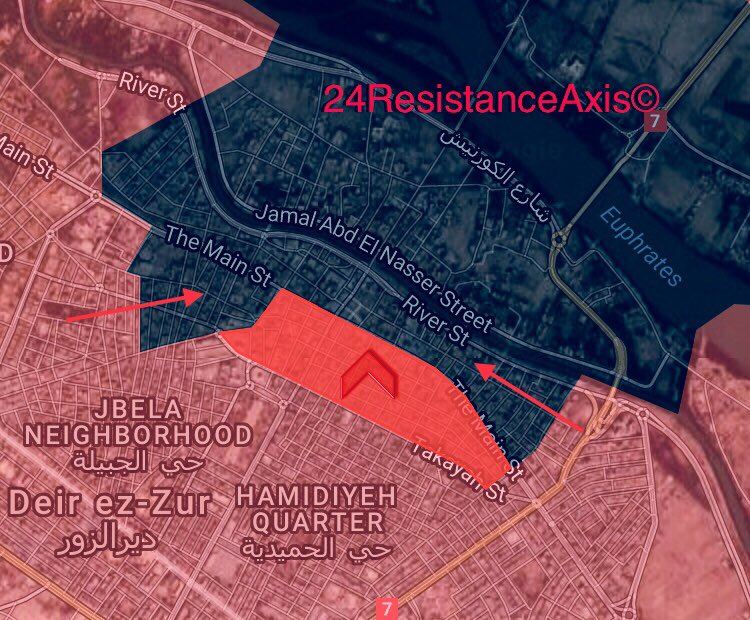 Syrian Army Liberates Another Neighborhood In Deir Ezzor City. ISIS Wents On Retreat (Map)