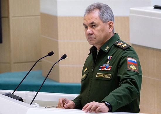 Russia's Defense Minister Congratulated 'Syrian Counterparts' On Liberation Of Al-Bukamal