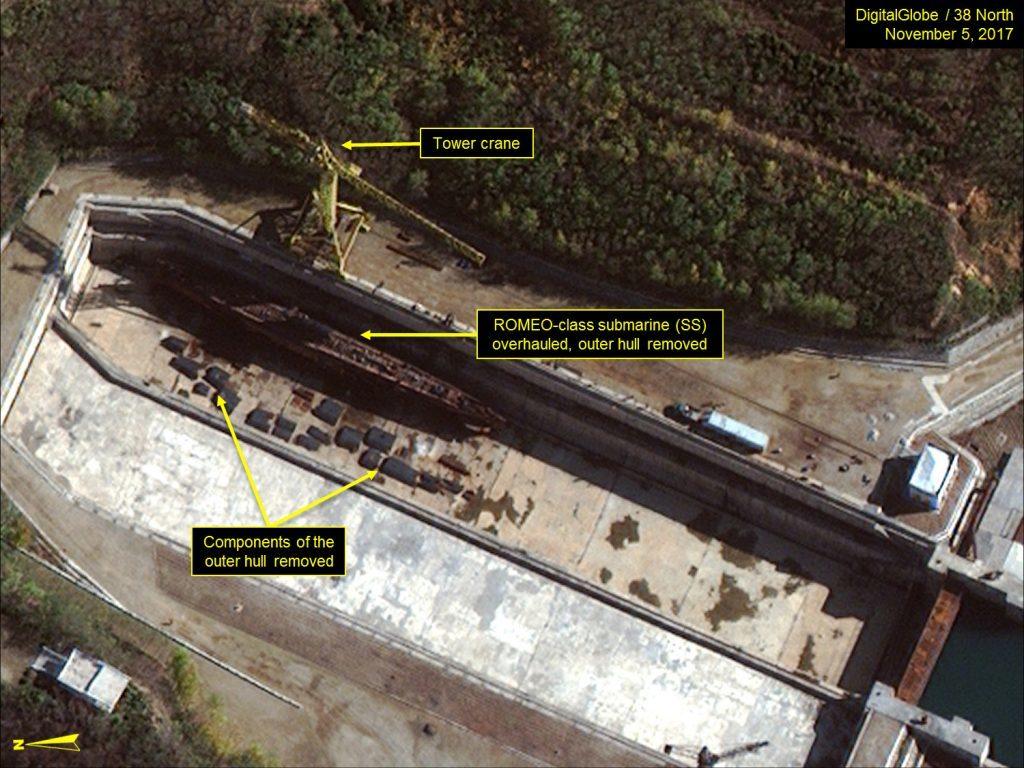 North Korea Accelerates Its Ballistic Missile Submarines Program