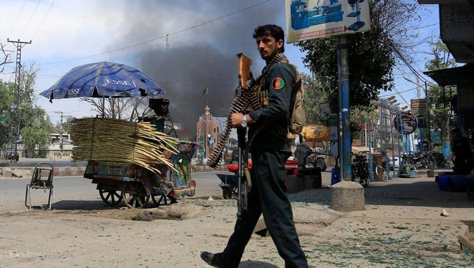 ISIS Claims One Of Its Sucide Bombers Killed Or Injured 50 Policemen In Eastern Afghanstan