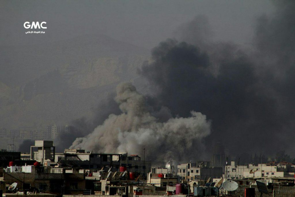 Militants Launch Attack Against Syrian Government Forces In Eastern Ghouta 'De-Escalation Zone'