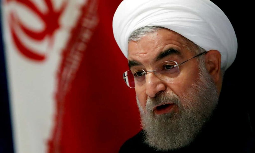 """Iranian President Says ISIS Is """"Finished"""""""
