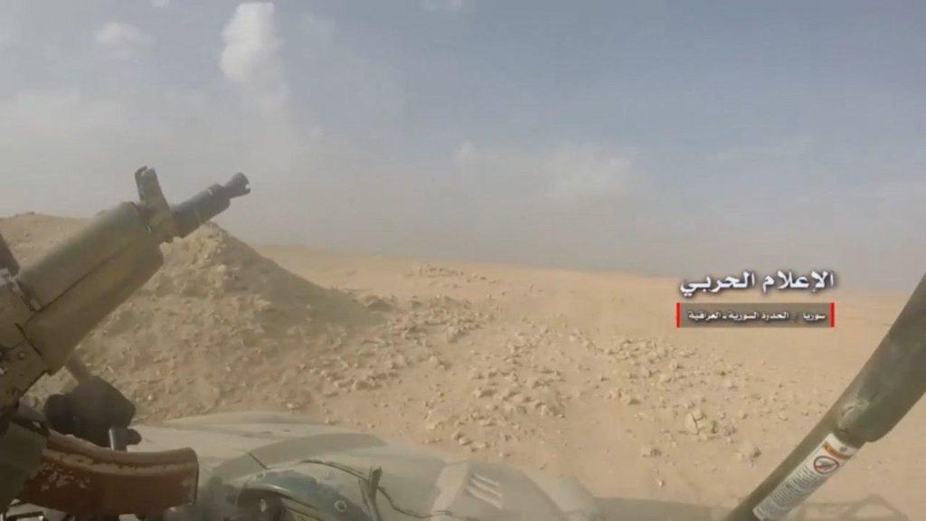 Video Confirmation: Syrian And Iraqi Troops Met At Border Near Al-Bukamal