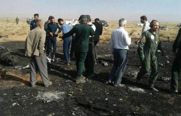 Islamic Revolutionary Guard Corps' Su-22 Warplane Crashed In Southern Iran