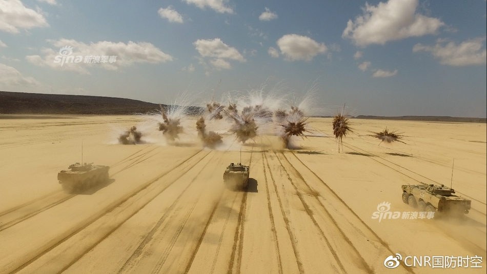 Chinese Forces Conduct Live-Fire Drills In Djibouti (Photos, Video)