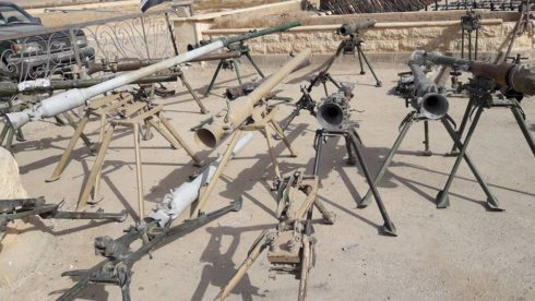 Syrian Army Captures Large Amount Of Weapons, 6 Battle Tanks In Deir Ezzor City (Videos, Photos)