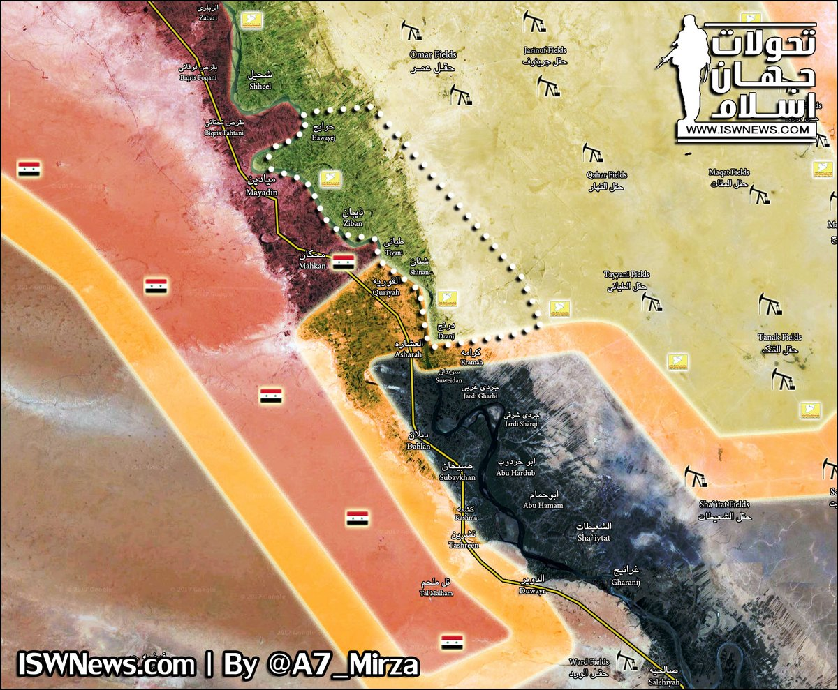 SDF Made Large Advance In Southeastern Deir Ezzor. ISIS Massacred Again Refugees (Map, Photos)