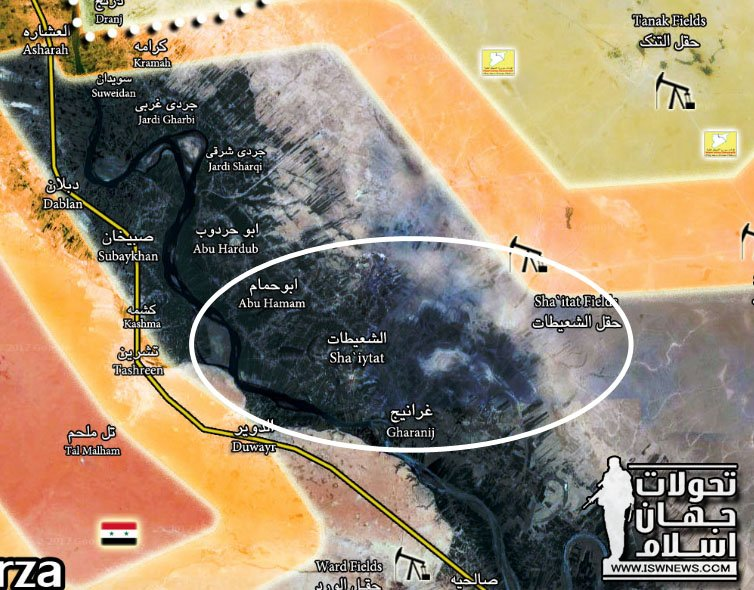 Syrian Democratic Forces Captured Key Town In Southeastern Deir Ezzor (Map, Video)