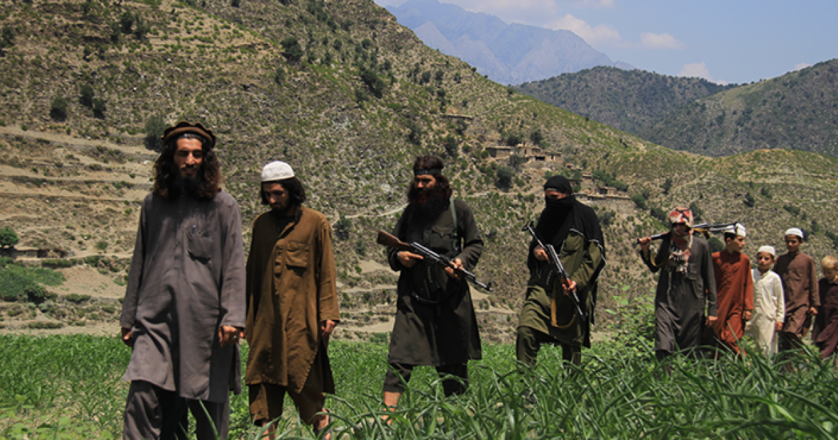 Taliban Attacks Government Forces In Southeastern Afghanistan
