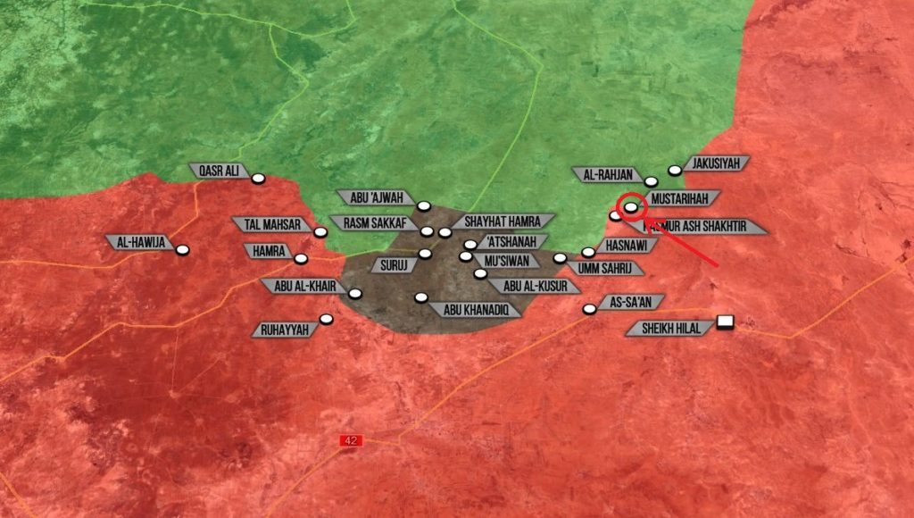 Syrian Troops Liberated Mustarihah From Militants In Northeastern Hama (Map)