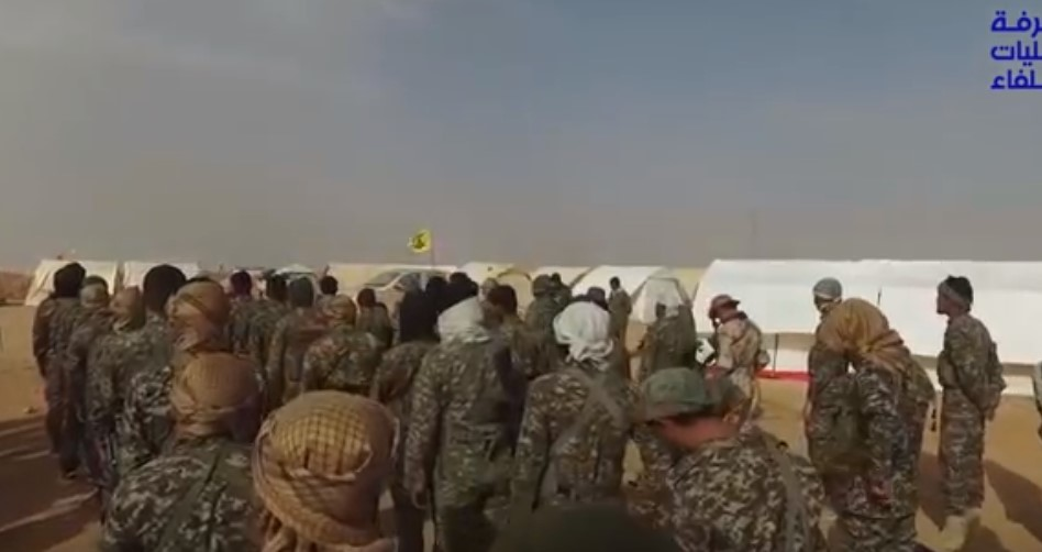 Video: Syrian Troops And Their Allies At Iraqi Border, Near Al-Bukamal