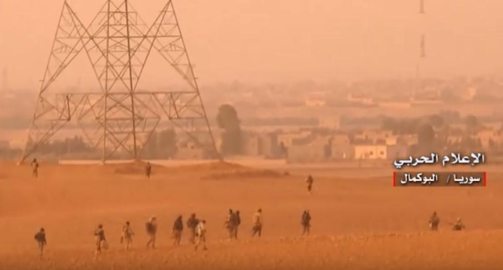 Video Confrimation: Syrian Government Troops Enter Al-Bukamal City