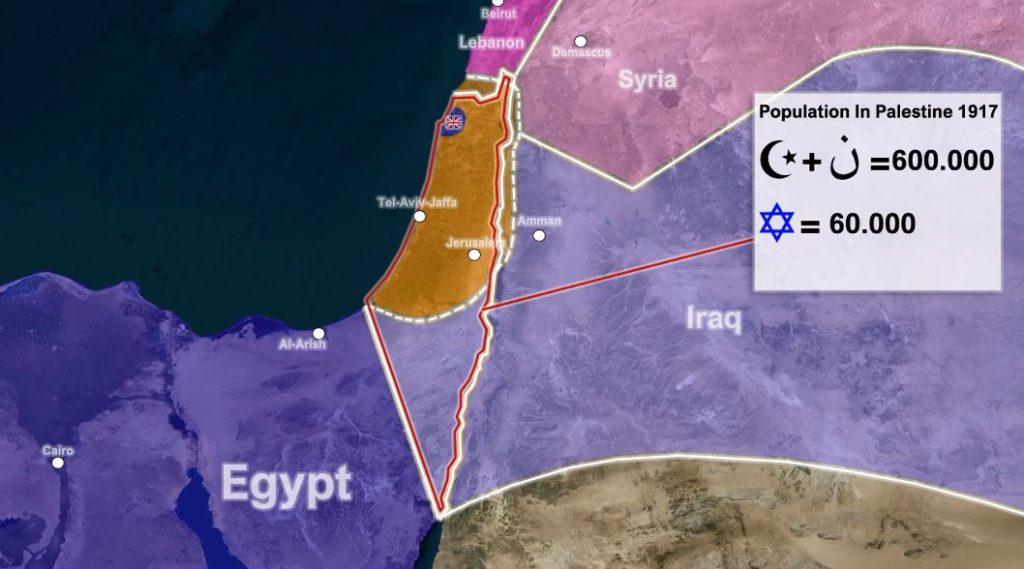 パレスチナの悲劇の物語:Balfour宣言とイスラエルの創設