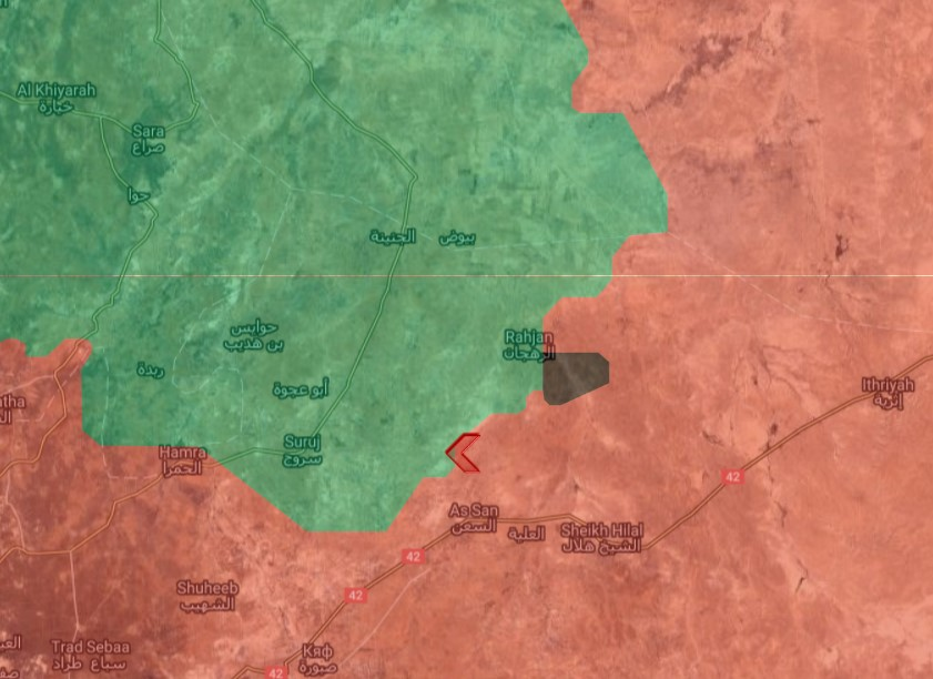 Syrian Forces Took Control Of Hasnawi Village And Nearby Hills In Northeastern Hama (Map)