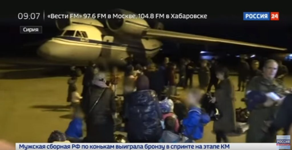 More Than 40 Women And Children Evacuated From Syria To Russia