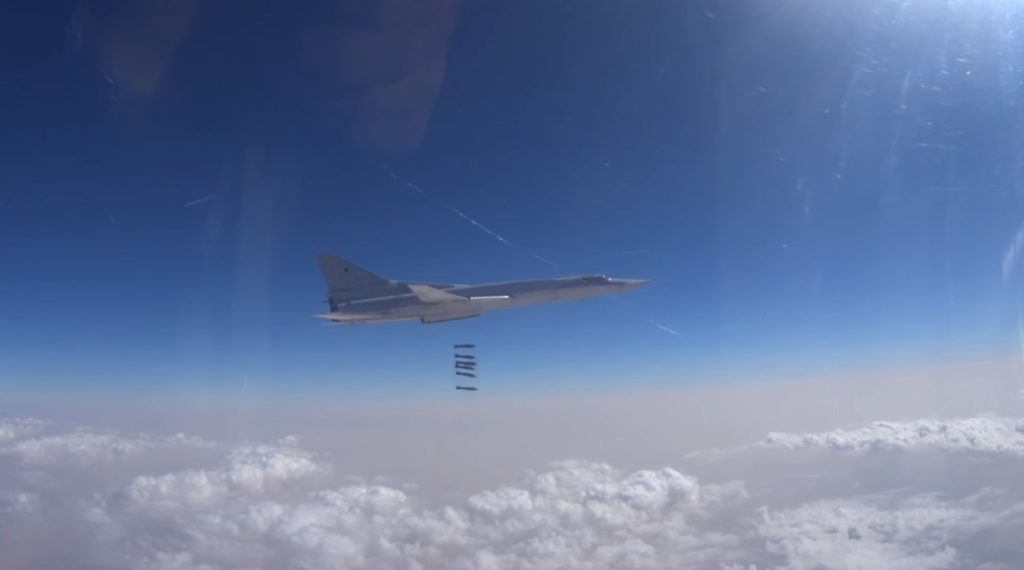 Russian Aerospace Forces Destroyed 950 Terrorist Targets Over Past Week