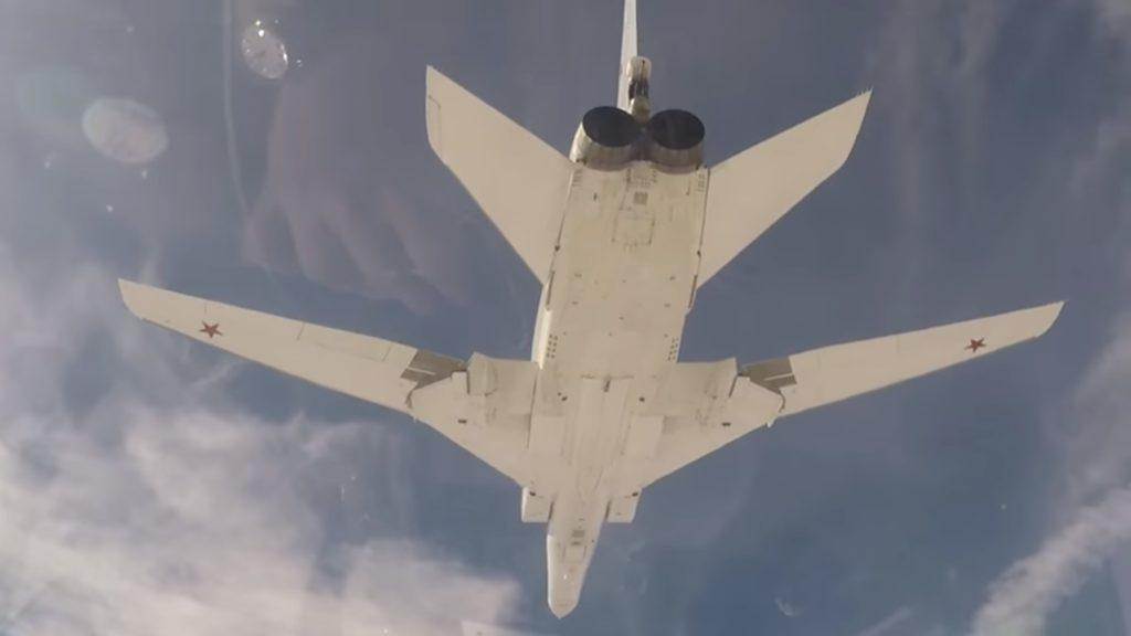 Video: Six Russian Strategic Bombers Once Again Struck ISIS In Deir Ezzor Province