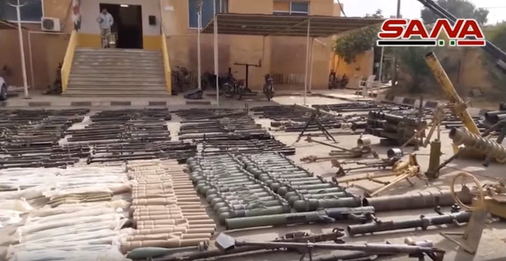 Video: Syrian Forces Discover Large ISIS Weapons Depot In Deir Ezzor