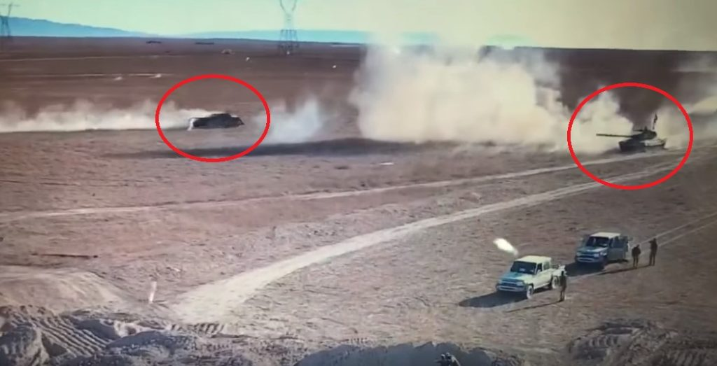 Video: Duel Between Iraqi Battle Tank And ISIS VBIED