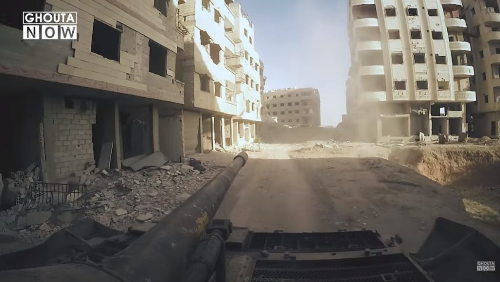 Militants Releases 12-minute Long Video Of Clashes In Eastern Ghouta