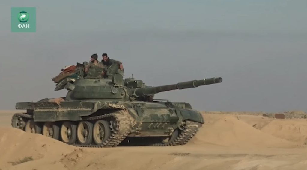 Video: Syrian Army Advancing On ISIS Positions Between Al-Bukamal And Southern Countryside Of Al-Mayadin