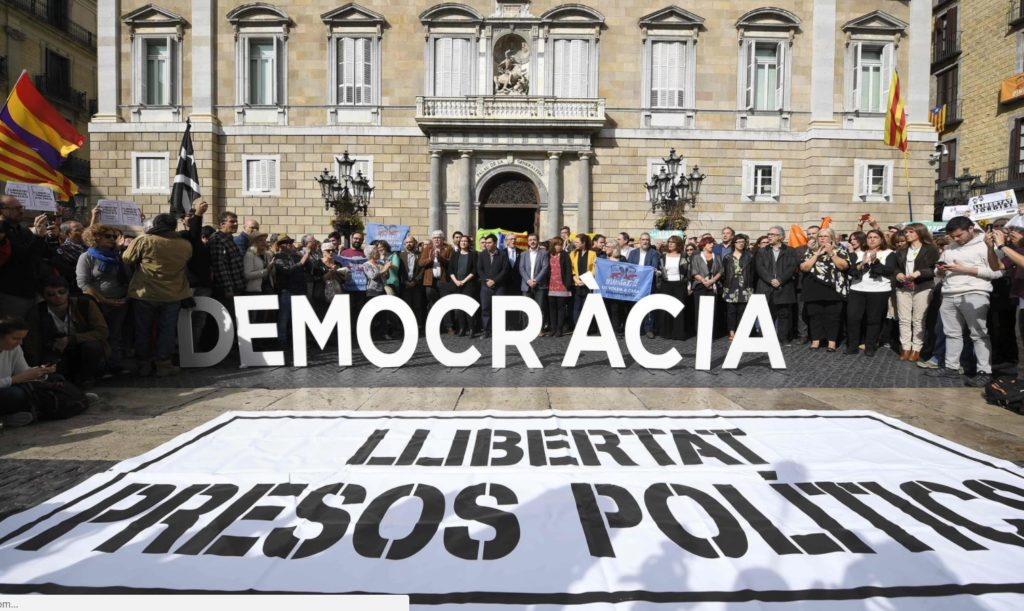 Eight Members of Deposed Catalan Government Detained, Former Catalan Leader Still In Brussels
