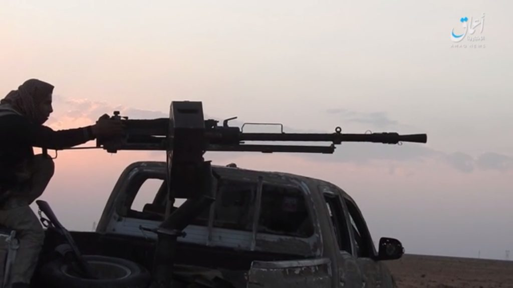 Clashes Between Syrian Army And ISIS Continue In Al-Bukamal City (Photos)