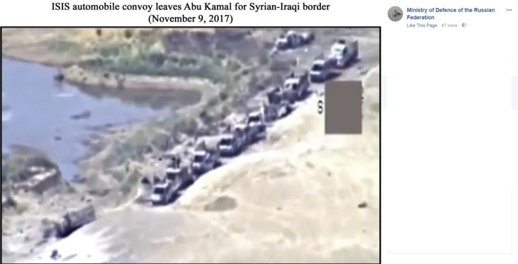 Russian Military Released Fake Photos Showing ISIS Withdrawal From Al-Bukamal