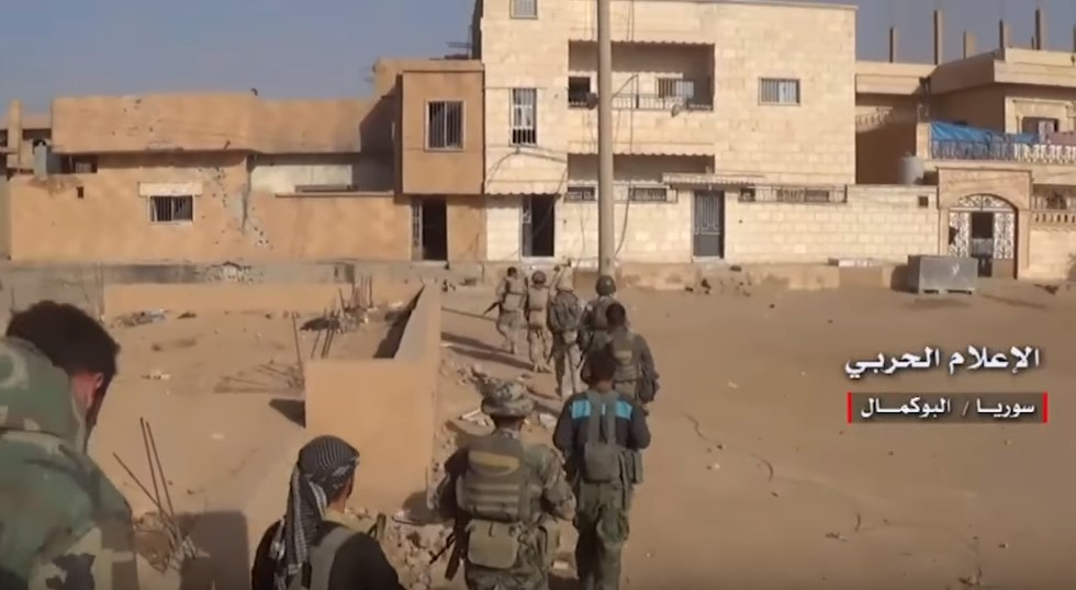 Video: Pro-Government Forces Clashing With ISIS Inside Al-Bukamal City