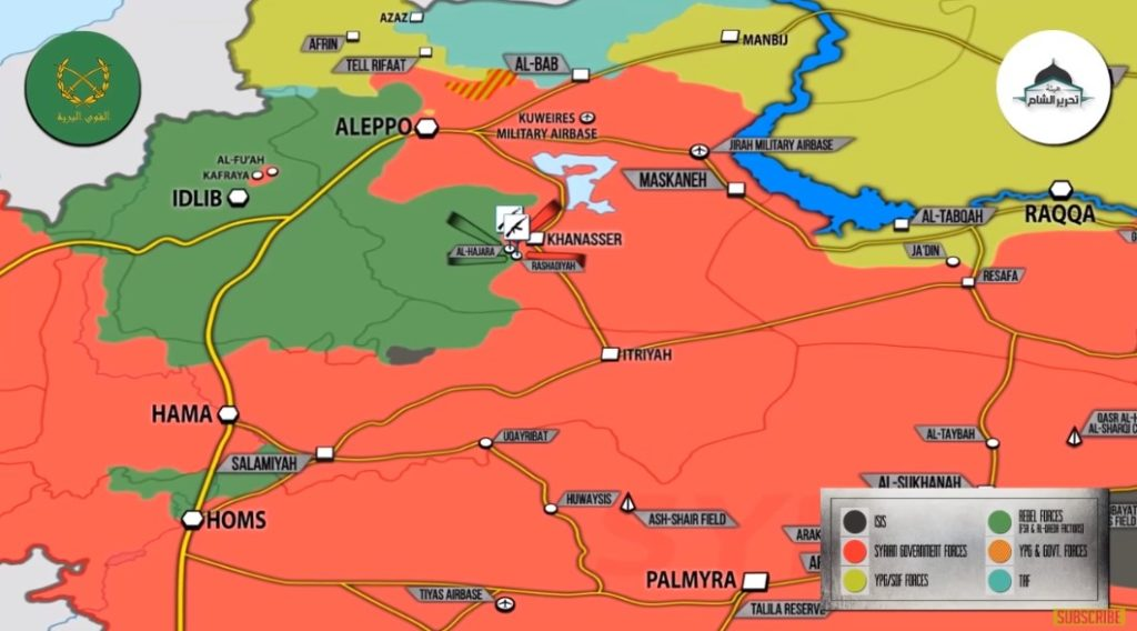 7 Minute-Long Video: Syrian Army And Its Allies Clash With Hayat Tahrir al-Sham In Southern Aleppo