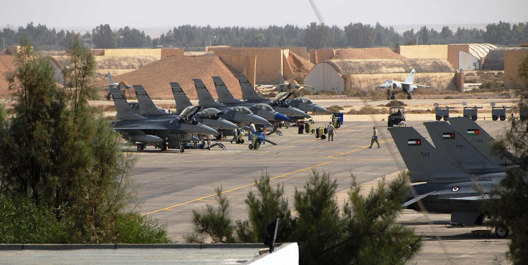 US Military To Expand Jordanian Air Base To Use It For Oprations In
