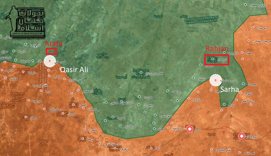 Syrian Army Liberated Important Town In Northeastern Hama (Photos, Videos, Map)