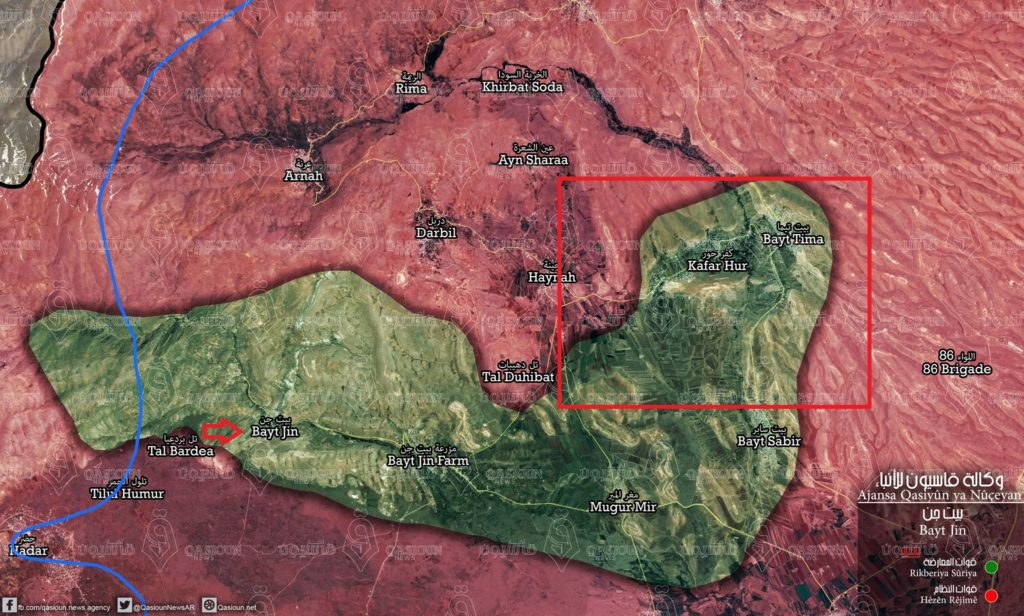 Army Repels Another Hyat Tahrir al-Sham Attack On Hadar Tow in Southern Syria