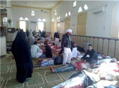 Egypt's Sinai Mosque Attack: Death Toll Rises To 235 (Photos)
