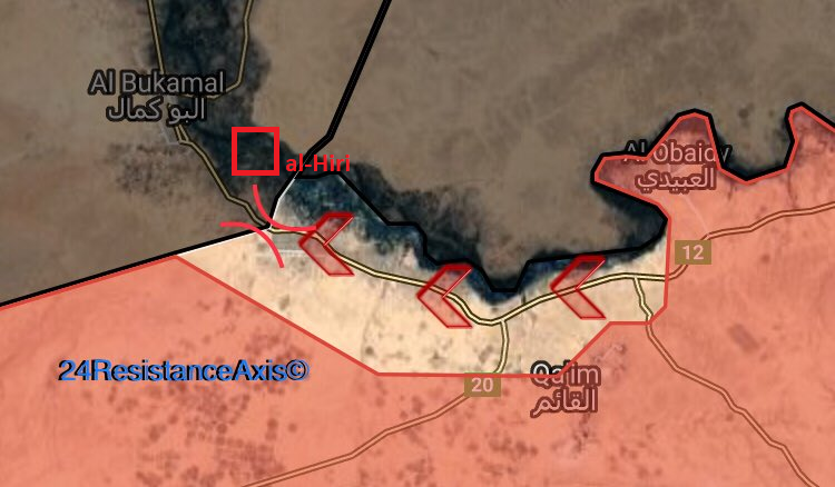 Iraqi Forces Captured Syrian Settlement Near al-Bukamal. Is It True?