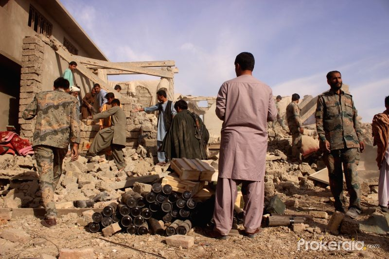 Taliban Claims It Killed 32 Soldiers In Suicide Attack In Southern Afghanistan (Photos)