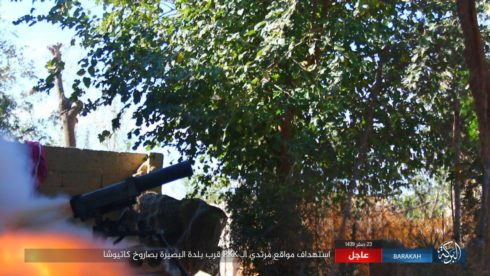 US-backed Forces Captured Key Town From ISIS Southeast Of Deir Ezzor